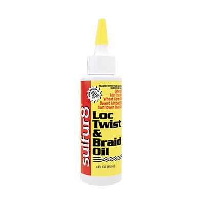Loc, Twist & Braid Oil