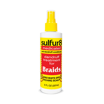 Medicated Braid Spray