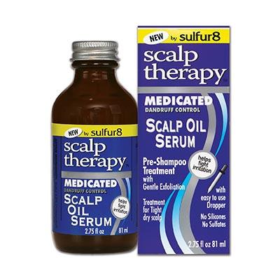 Medicated Dandruff Control Scalp Oil Serum